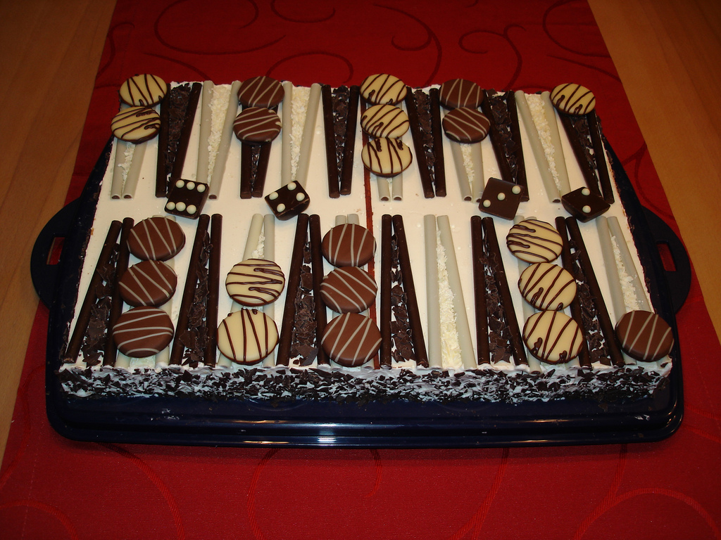 torta backgammon