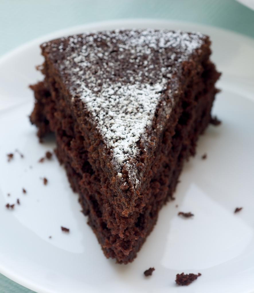 torta genoise al cacao