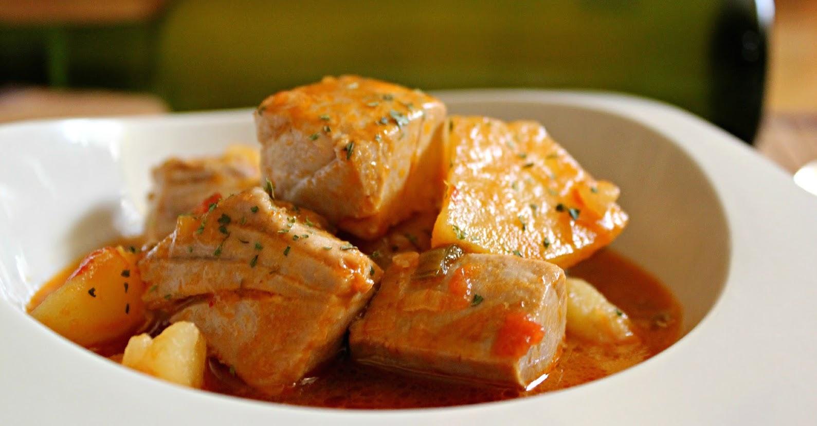 tonno e patate al peperoncino