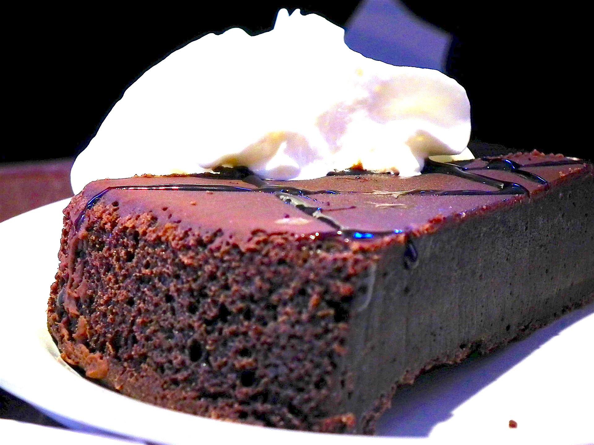 torta di cioccolato al Whisky