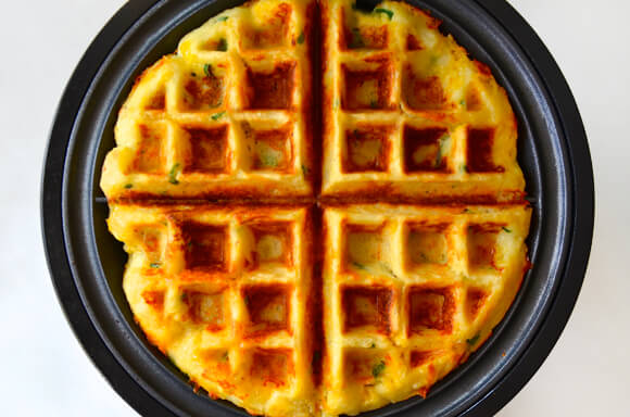waffles alle patate