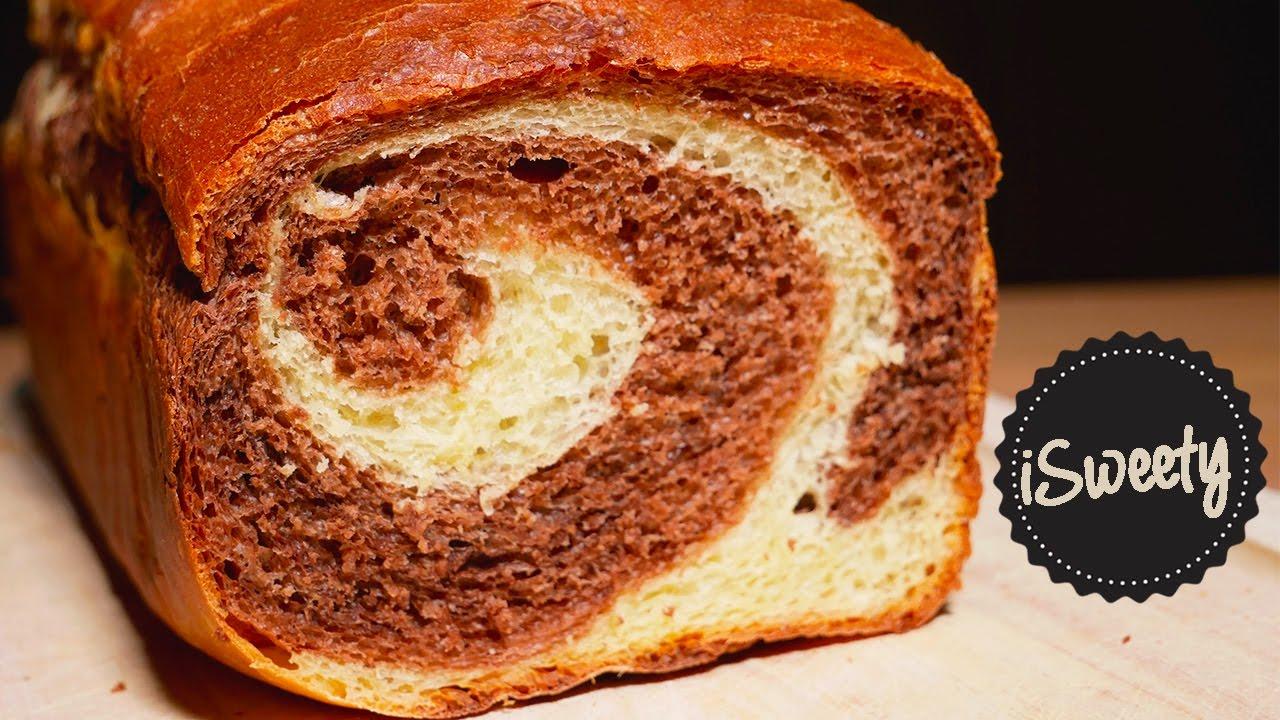 pan brioche marmorizzato allo yogurt SENZA BURRO