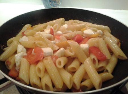 """Pasta, Peperoni e Mozzarella """"Fior di latte"""""""