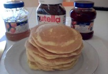 Pancakes e Mini pancakes (frittelle americane)