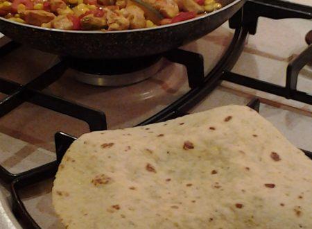 Taco (tortilla) messicano a modo mio