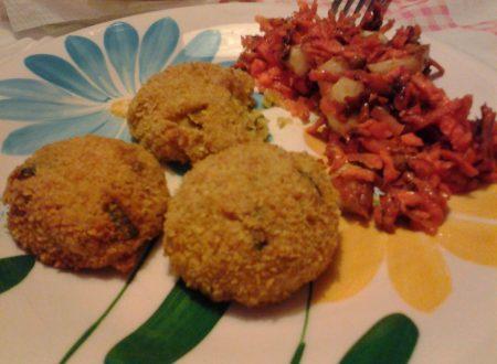 Polpette di quinoa e zucchina