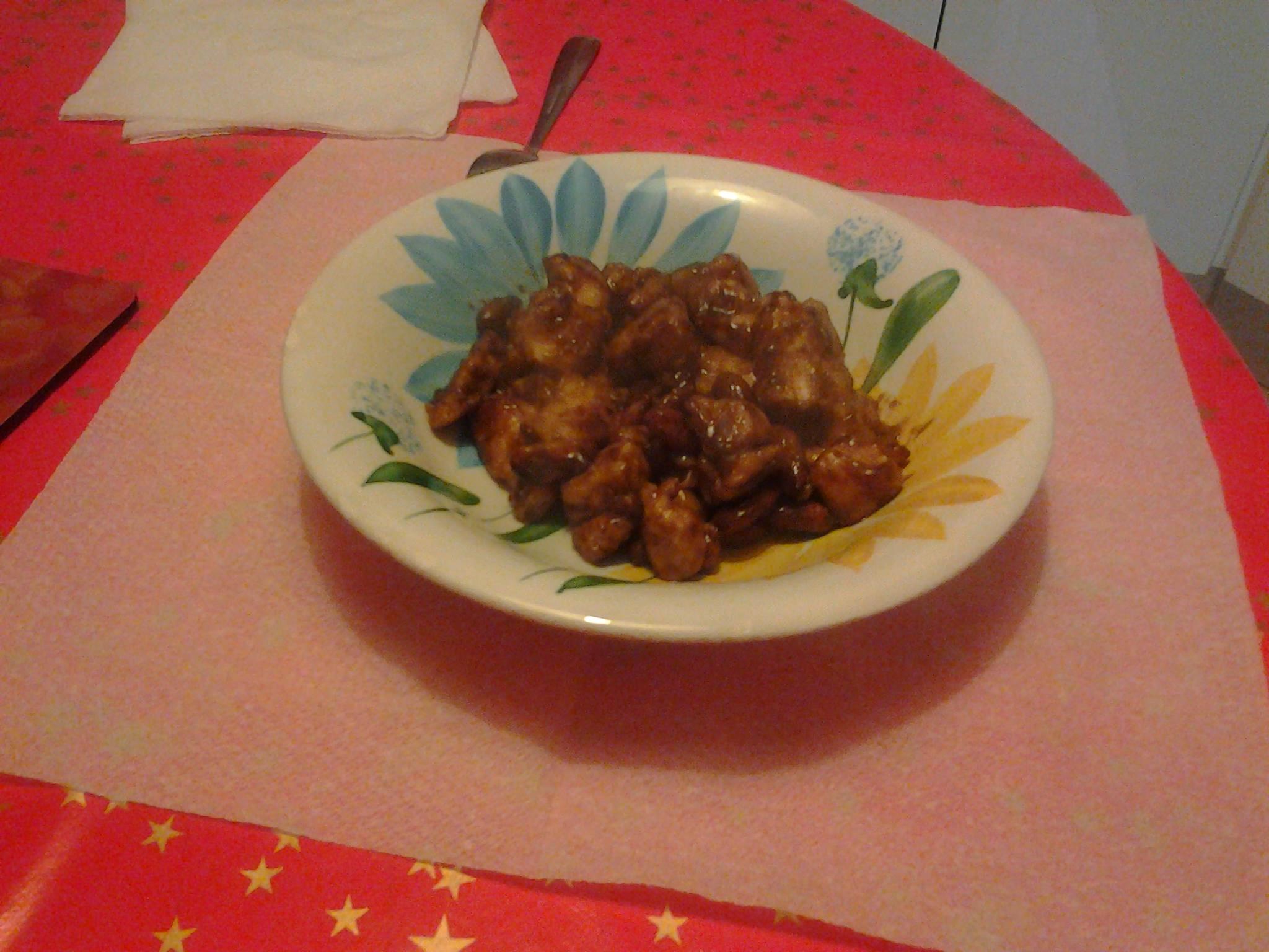 Pollo alle mandorle piatto cinese dolcisalati di for Piatto cinese