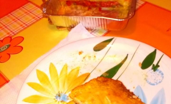 Torta salata ripiena