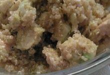 Insalata home-made di quinoa, avocado e pollo grigliato!