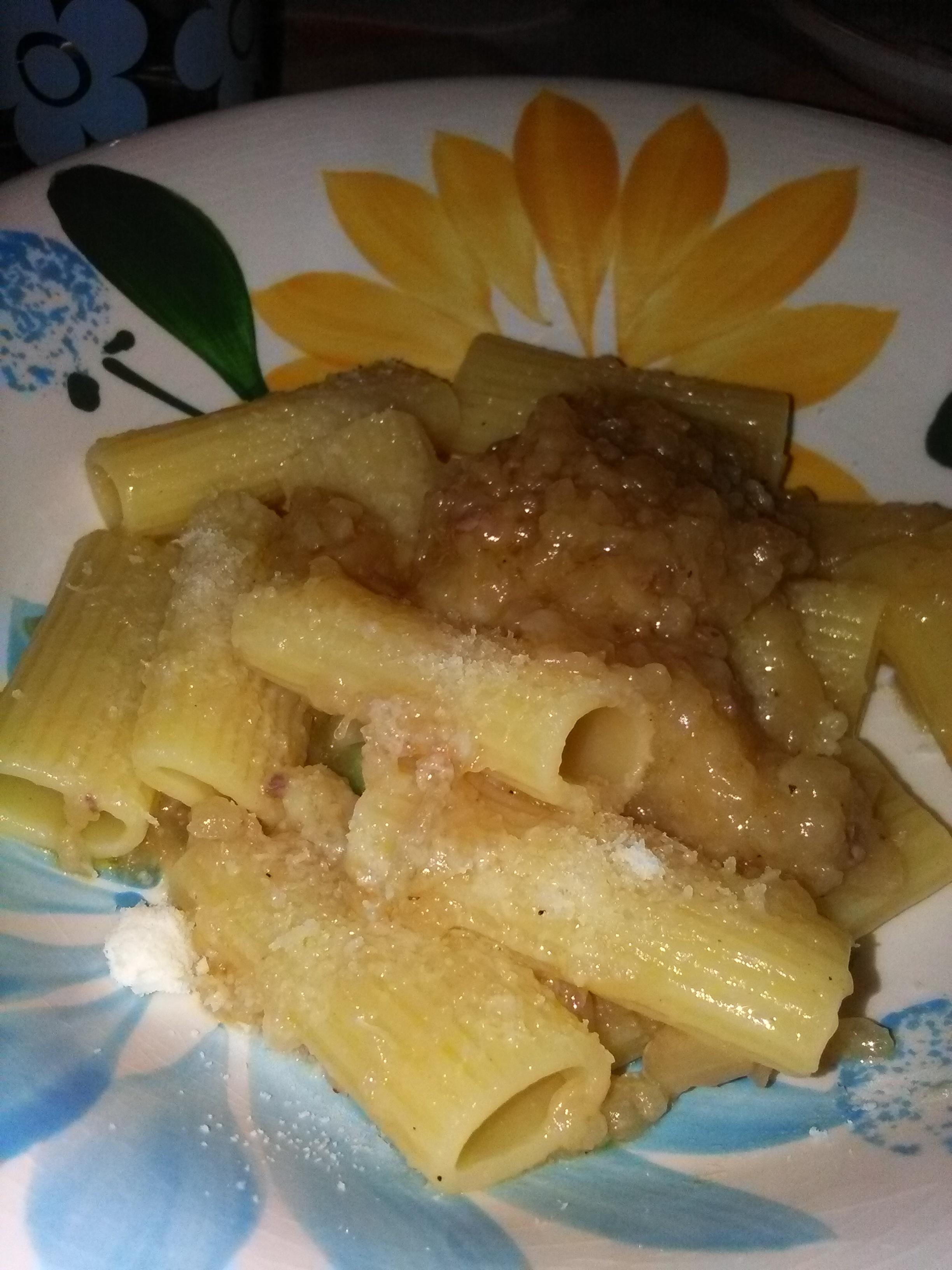 Ragù e braciole alla genovese con pasta home-made