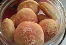 Crackers (a mo' di mini panino) home-made