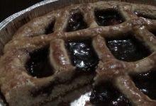 Crostata morbida ripiena di confettura ai frutti di bosco home-made