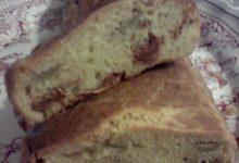Plumcake salato, farcito con pomodori secchi sott'olio ed olive piccanti home-made