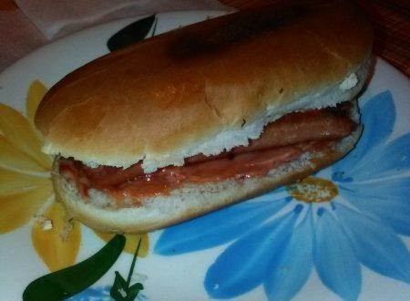 Hot-dog home-made