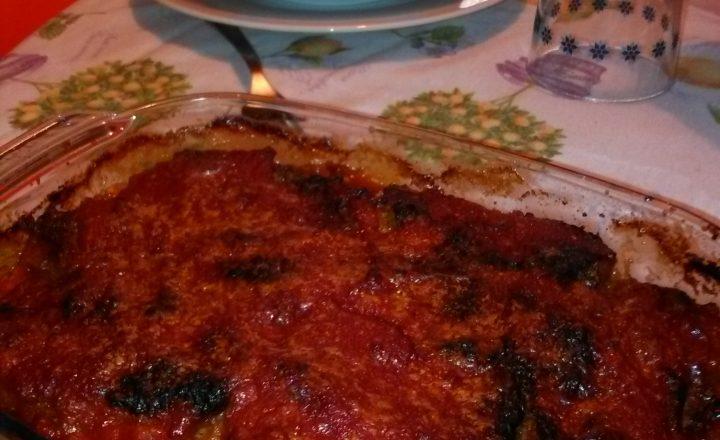 Parmigiana di zucchine (o di melanzane) home-made (ricetta di famiglia)