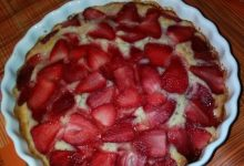 Torta alle fragole home-made