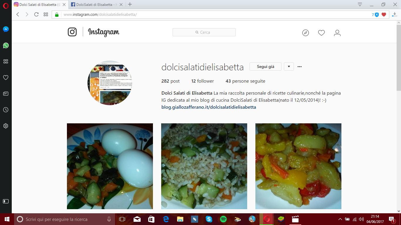il blog di cucina