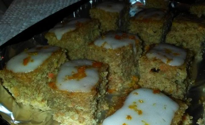 Monoporzioni di plumcake integrale alle carote ed arance home-made