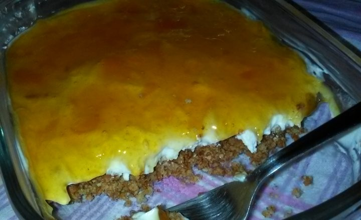 Cheesecake alla confettura di albicocche home-made