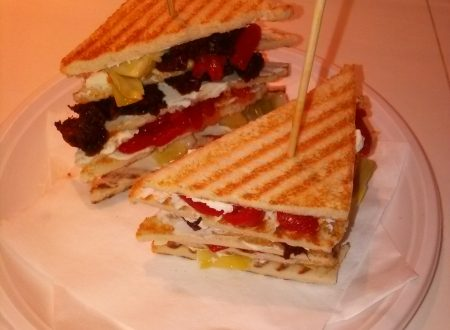 Club sandwich home-made