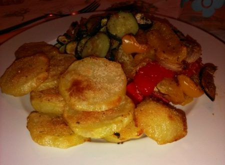 Verdure gratinate al forno home-made