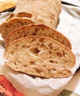 Pane con lievito madre home-made