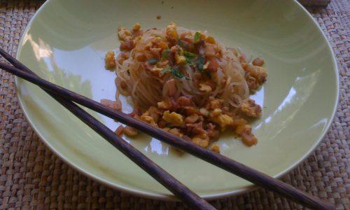 Ricetta dieta Dukan pasta, simil spaghetti stile cinese con salsa di soia