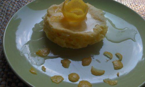 Ricetta dieta Dukan cheesecake al limone mini