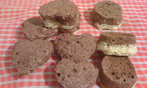 Ricetta dieta Dukan muffin ai due colori