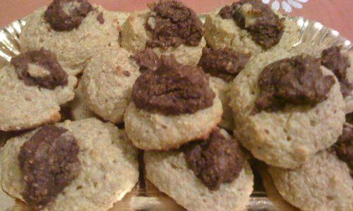 Biscotti due colori dieta Dukan facili veloci gustosi ricetta