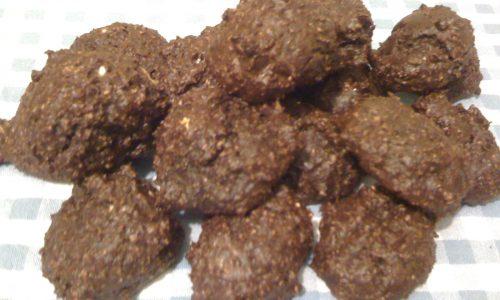 Biscotti amaretti al cioccolato dieta Dukan ricetta