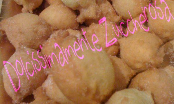 Castagnole ricetta dolce di Carnevale