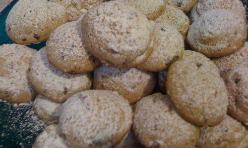 Biscotti del reame con cioccolato fondente e burro montato ricetta