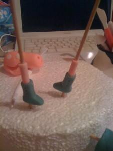 peppa pig passo passo tutorial pdz pasta di zucchero