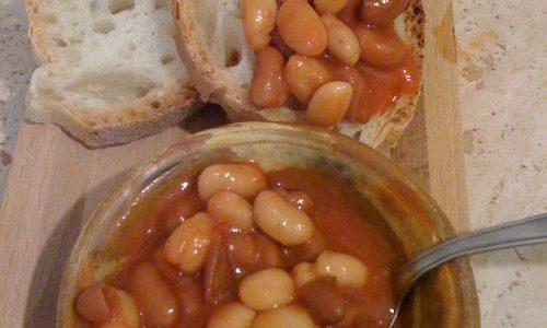 Fagioli con sugo piccante ricetta  saporita de Roma
