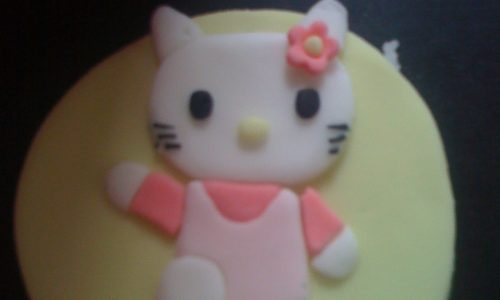 Hello Kitty in pasta di zucchero tutorial passo passo