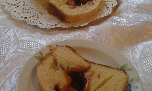 Pandolce con ripieno di marmellata ricetta con esubero di pasta madre