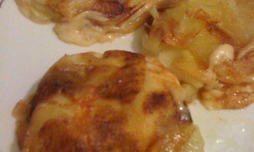 Millefoglie di patate e scamorza affumicata ricetta facile