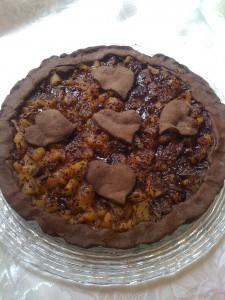 Crostatacon pere e cioccolato ricetta autunnale