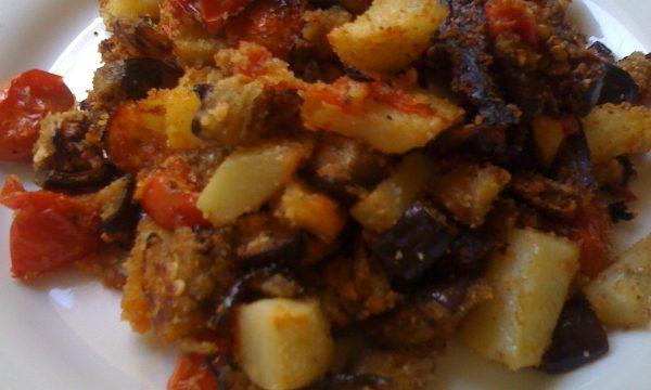 Misto di verdure gratinate in forno ricetta semplice