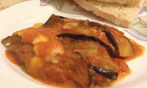 Melanzane alla parmigiana ricetta ricca