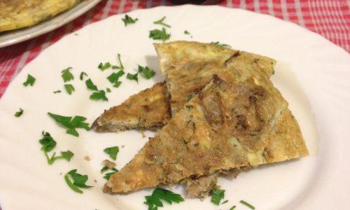 Frittata con carciofi ricetta facile