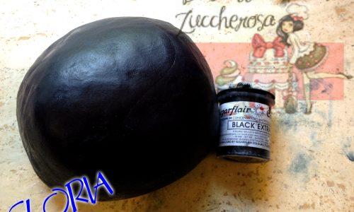 Come creare la pasta di zucchero nera ricetta