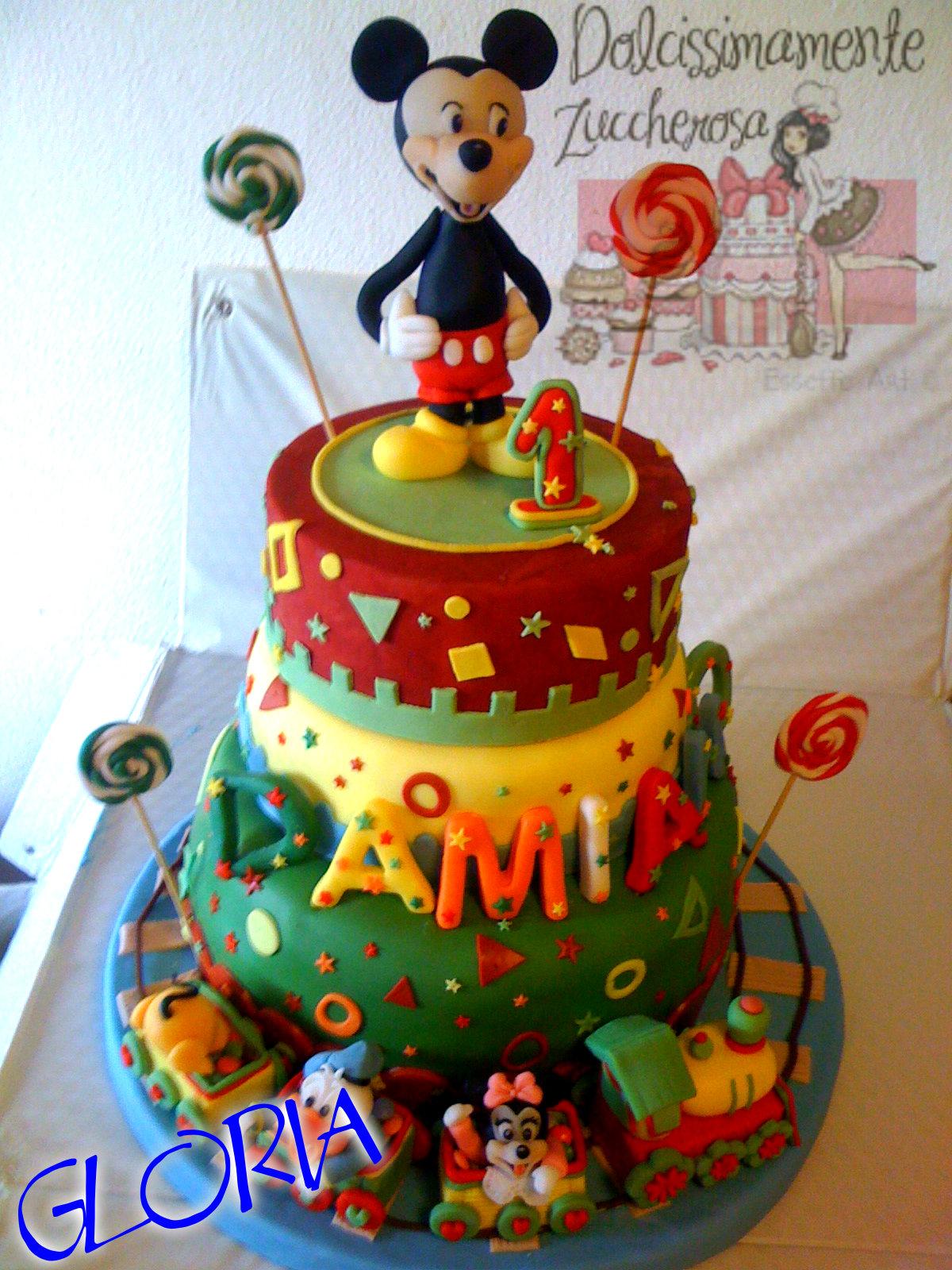 Torta topolino in pasta di zucchero pdz dolcissimamente for Decorazioni torte vendita