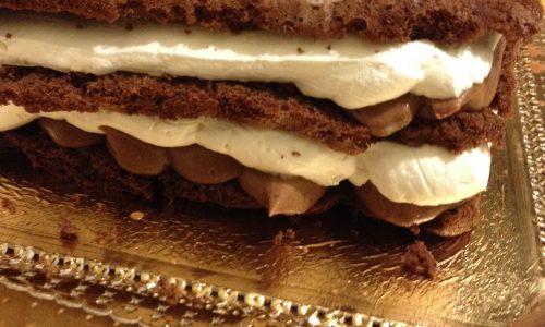 Pandispagna al cioccolato ricetta facile