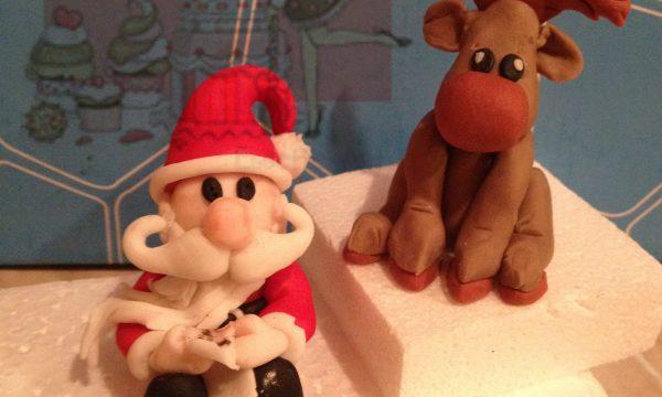 Tutorial Babbo Natale in pasta di zucchero