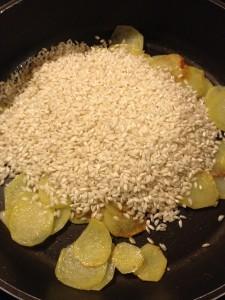 Ricetta riso con patate speziato facile economico