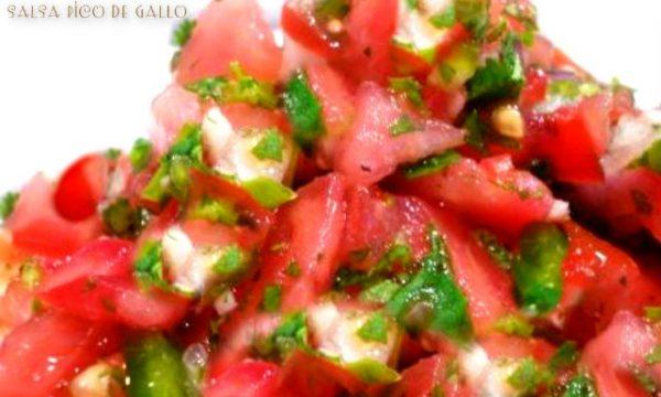 Salsa Pico de Gallo ricetta originale messicana