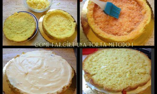 Come farcire una torta metodo 1 passo passo