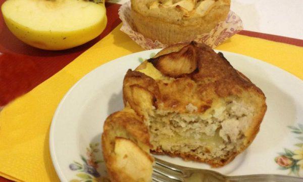 Muffin alle mele Dukan dieta ricetta light